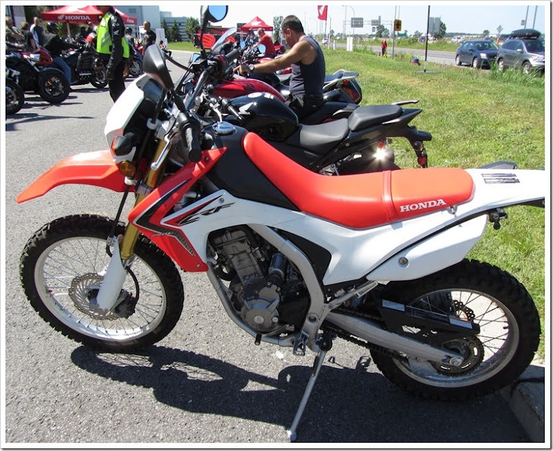 Rock The Red Boucherville - CRF250L