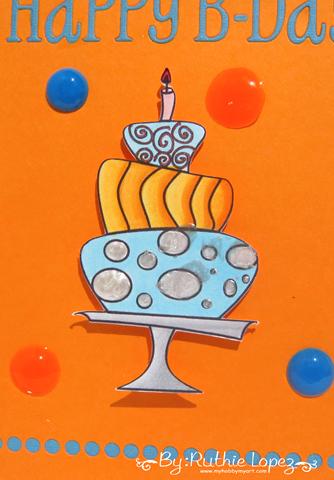 Garabattas - Birthday Ca - Happy Birthday Card - Ruthie Lopez - My hobby my art 2