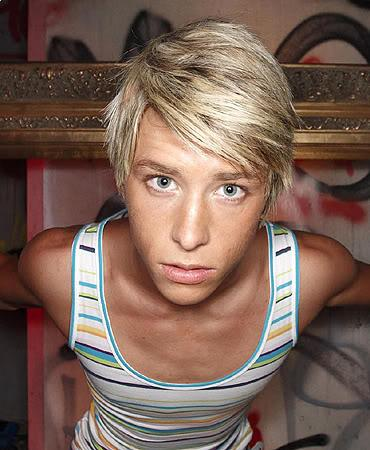 Mitch Hewer side swept bangs