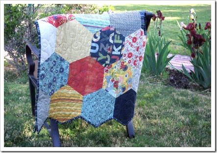 Half Hexagon Quilt
