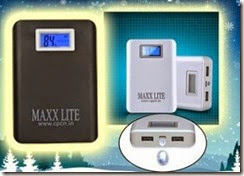 Buy Maxxlite 10000 mAH LED Display Power Bank Dual USB at Rs 899 only