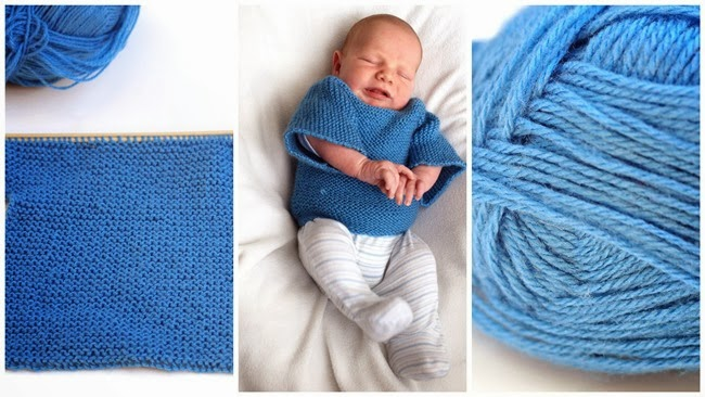 little blue newborn all in one jumper