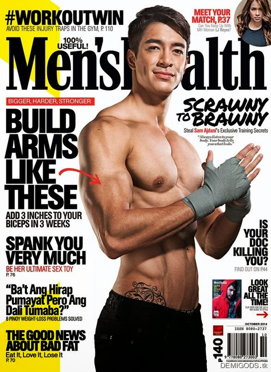 Sam Ajdani Men's Health Philippines cover