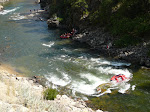 Rafting incident seen from the road in Idaho