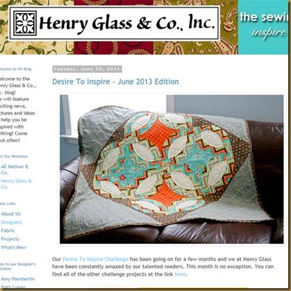 henry glass web