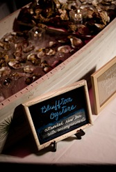 Savannah Wedding, chalkboard wedding