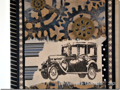 Tim Holtz Vintage Car