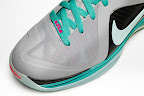 nike lebron 9 ps elite grey candy pink 9 05 official LeBron 9 P.S. Elite Miami Vice Official Images & Release Date