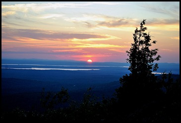 06k - Sunset - from pulloff - going