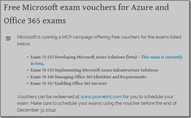 thoughts on azure oms scom cross post free microsoft exam