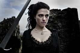 Katie McGrath is Morgana in Merlin - The Diamond of the Day