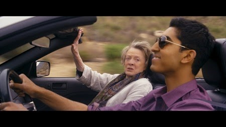 Maggie Smith and Dev Patel - The Second Best Exotic Marigold Hotel