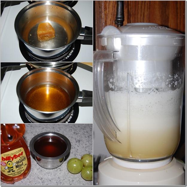 Gooseberry juice process