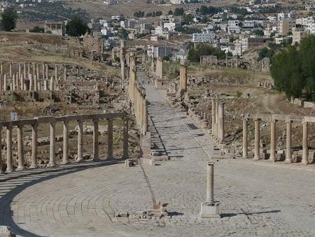 Obiective turistice Iordania: Jerash, oras roman