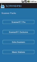 Screenshot of Scanner911 Pro Scanner