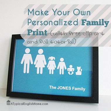 freepersonalisedfamilyprint
