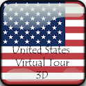 United States Virtual Tour 3D icon