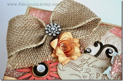 burlap box ribbon