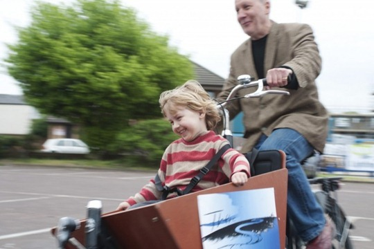 Dutch Bakfiets in the UK