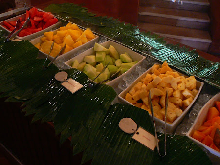 Fruit breakfast in Bali
