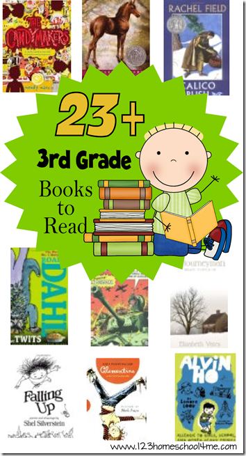 3rd Grade Reading List #3rdgrade #homeschool #education #bookrecommendations