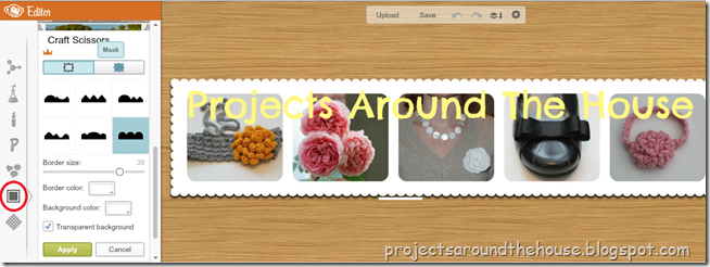 make a blog header 6