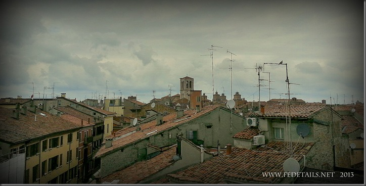 Ferrara Skyline, Photo 1, Ferrara, Emilia Romagna, Italy - Property and Copyrights of FEdetails.net