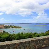 Looking Out Over Cruz Bay - St. Thomas, USVI