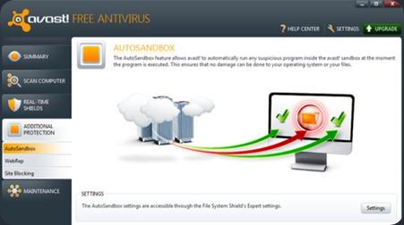 Avast! Free Antivirus 6