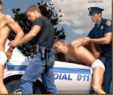 gay arrest