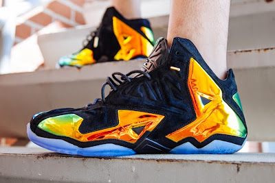 nike lebron 11 nsw sportswear ext kings crown 3 08 Nike LeBron 11 EXT Crown Jewel On Foot & Release Date