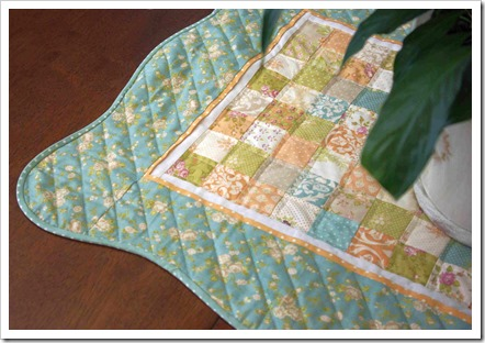 Curvy quilt border