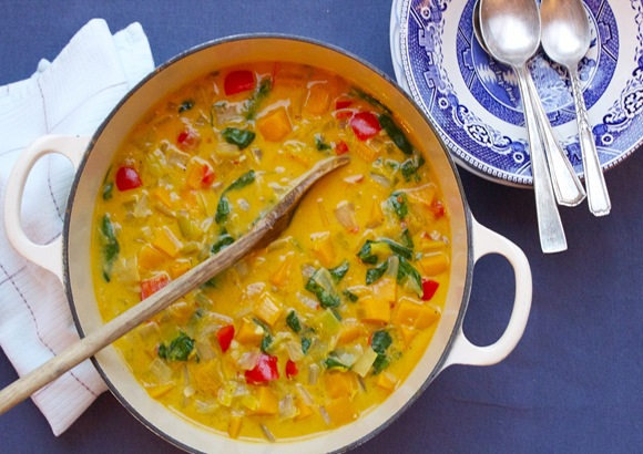Scrumptious Company: Coconut Curry Butternut Squash Soup
