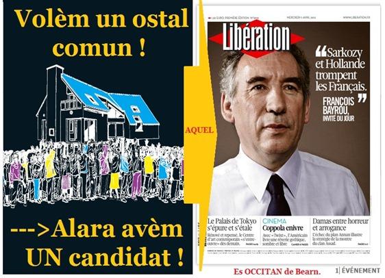 avèm un candidat Bayrou