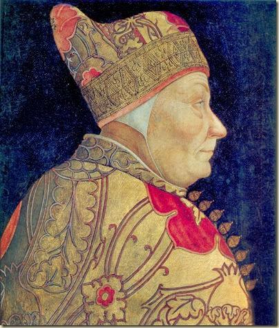 Portrait du doge Francesco Foscari Bastiani