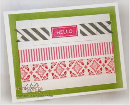 Hello in washi by anaRy