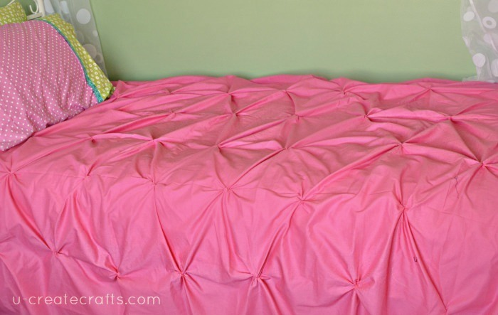 Pin Tucked Duvet Cover