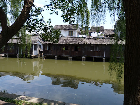 China traditionala: case traditionale chinezesti in Wuzhen
