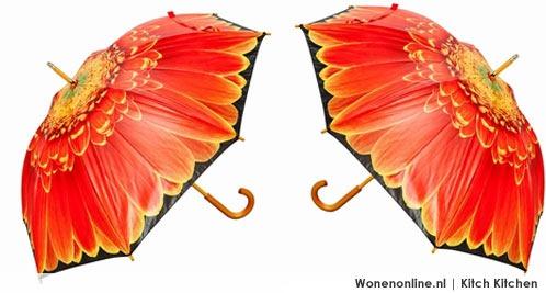 paraplu-oranje