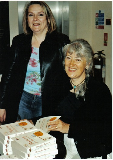 Sue Price and me in Waterstones