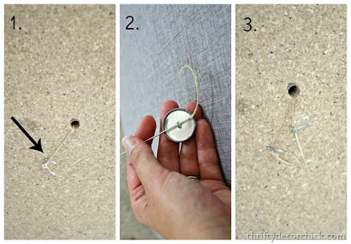 how to tuft a headboard & How to Make a DIY Tufted Headboard from Thrifty Decor Chick pillowsntoast.com