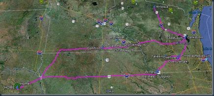 Wisconsin GE Map