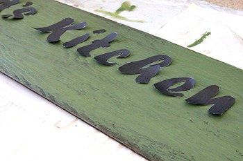 Creating a sign stencil