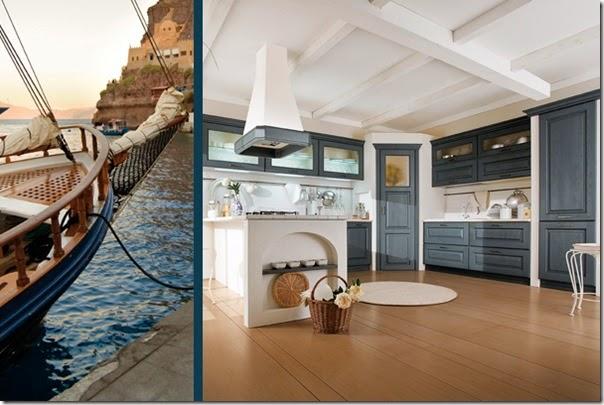 arredamento - cucine classiche - campagna - Canova-antracite
