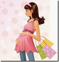dibujos mujeres embarazadas (8)