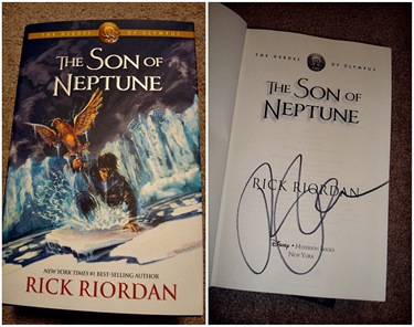 Son of Neptune Signed Photos