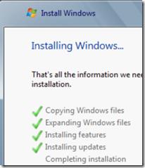 Installazione Windows 8