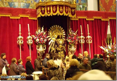 Besapié del Cristo de Medinaceli