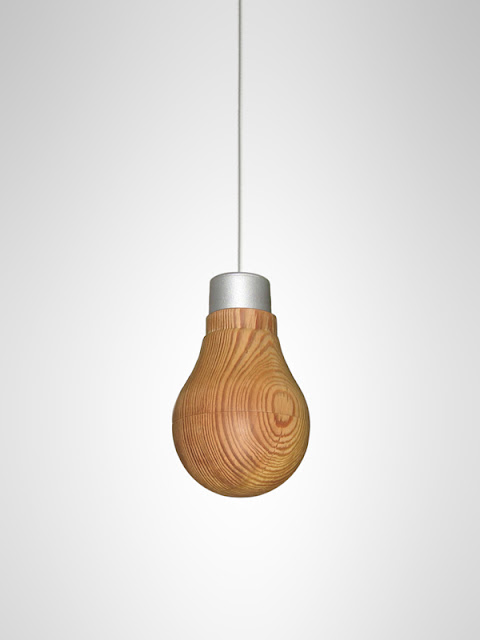 木の明かり | Wooden Light Bulb + monogocoro