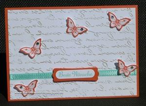 Beste Wünsche Schmetterlinge-fertig